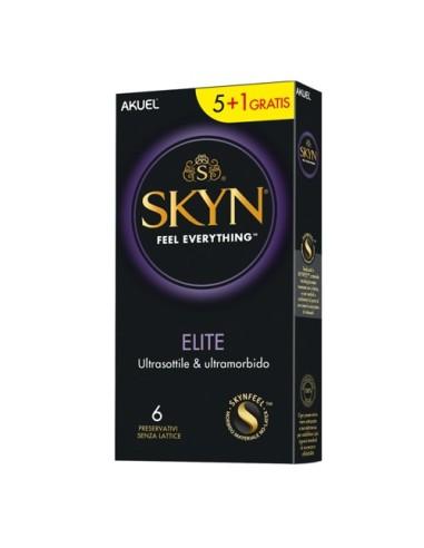 Condones Elite Skyn 6 Piezas