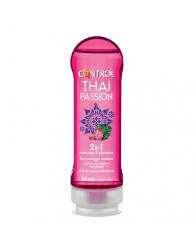 2 in 1 Massage Gel Thai Passion Control