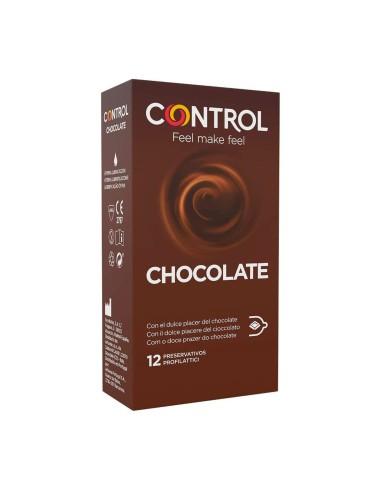 Chocolate Condoms 12 Pieces Control