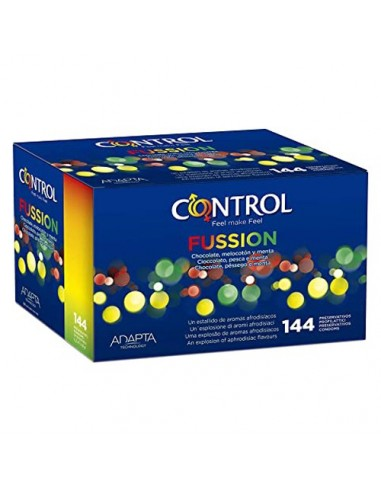 Preservativi Fussion Control 144 Unità