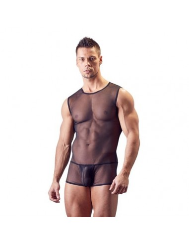 Transparent Body Man Black Svenjoyment