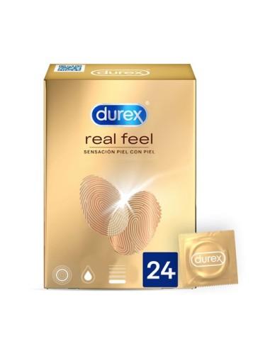 Préservatifs Real Feel Durex 24 unités