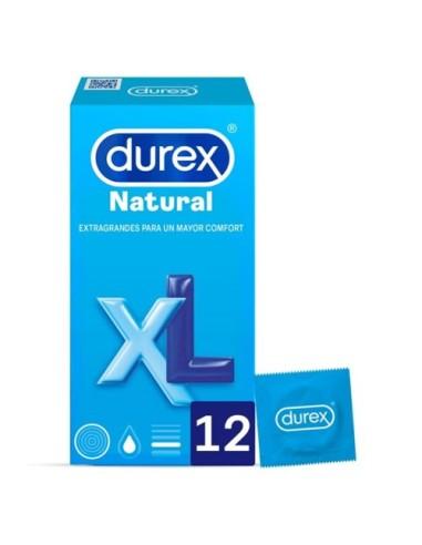 Condoms Natural XL Durex 12 Units