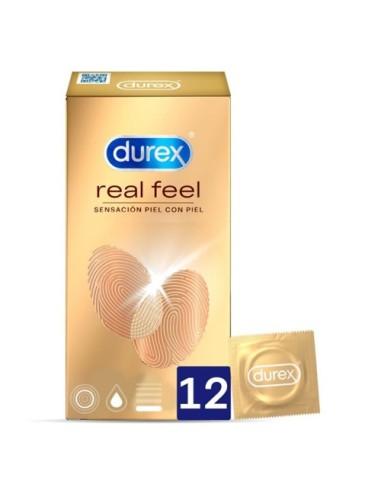 Preservativi Real Feel Durex 12 Unità