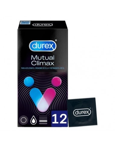 Condoms Mutual Climax Durex 12 Units