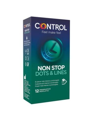 Kondome Non Stop Dots & Lines Control...
