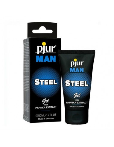 Gel de Massage Pjur Man Steel