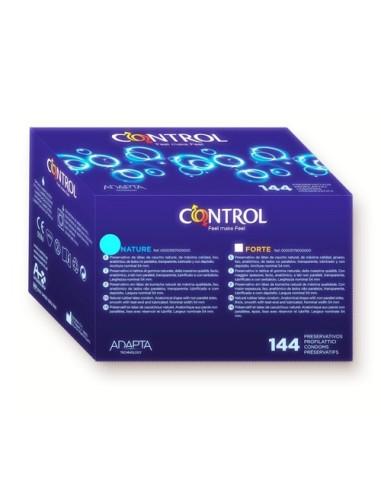 Préservatifs Control Nature 144 unités