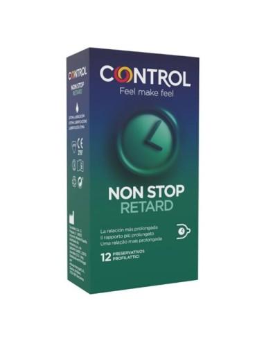 Retard Condoms Non Stop Control 12 Units